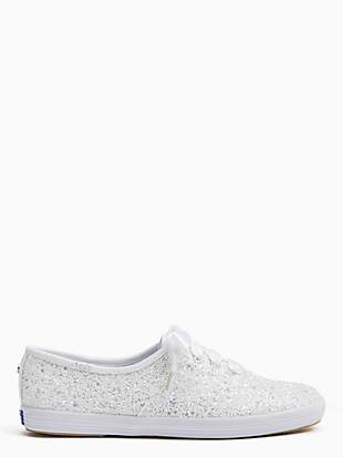 keds x kate spade new york champion glitter sneakers by kate spade new york hover view