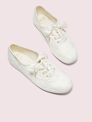 keds x kate spade new york champion lace sneakers by kate spade new york hover view