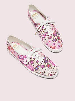 keds x kate spade new york champion pacific petals sneakers, pink multi, medium