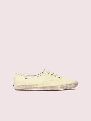 keds x kate spade new york champion neon sneakers by kate spade new york non-hover view