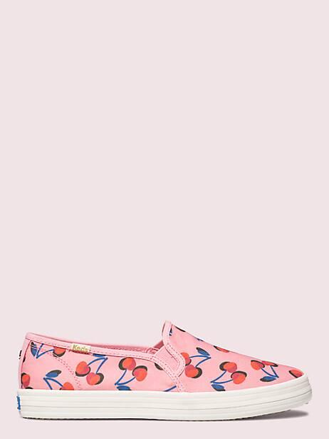 Keds x kate spade new york cherry double decker sneakers | Kate Spade New York