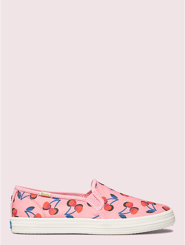 keds x kate spade new york cherry double decker sneakers, , rr_large