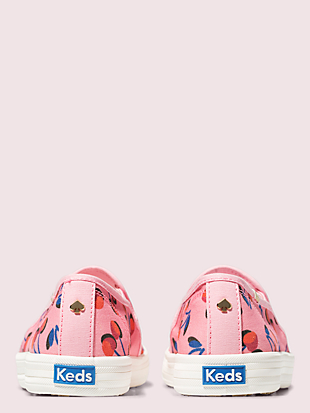keds x kate spade new york cherry double decker sneakers by kate spade new york hover view