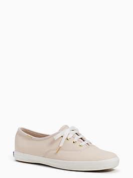 keds x kate spade new york kick sneakers, pink leather, medium