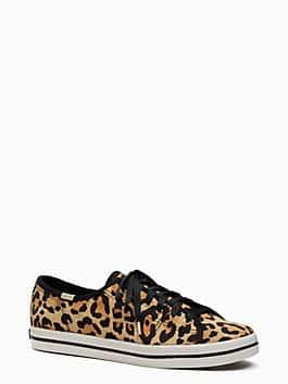 keds x kate spade new york leopard-print sneakers, tan, medium