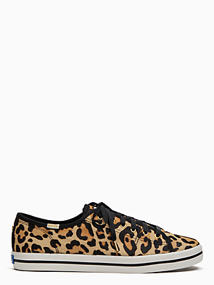 keds x kate spade new york leopard-print sneakers by kate spade new york hover view