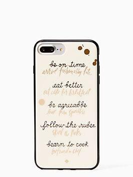resolutions iphone 7 & 8 plus case, multi, medium