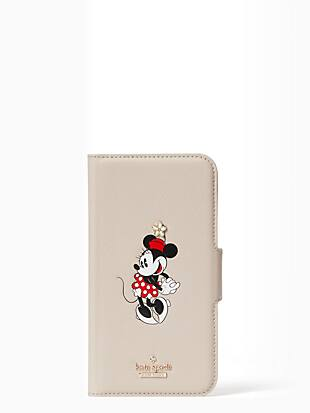 ksny x minnie mouse folio iphone 11 pro case by kate spade new york non-hover view