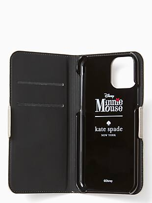 ksny x minnie mouse folio iphone 11 pro case by kate spade new york hover view