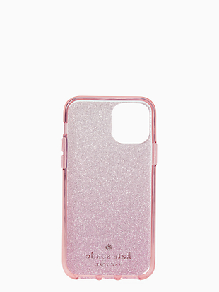 ombre glitter iphone 11 pro case by kate spade new york hover view