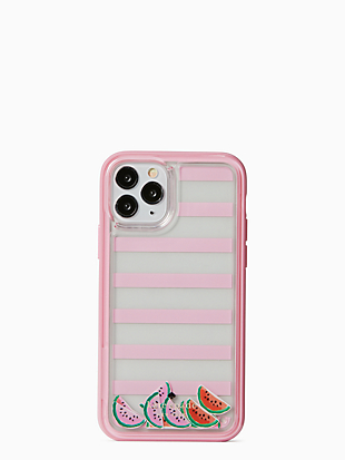 watermelon liquid iphone 11 pro case by kate spade new york non-hover view
