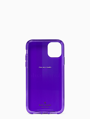 rainbow logo iphone 11 case by kate spade new york hover view