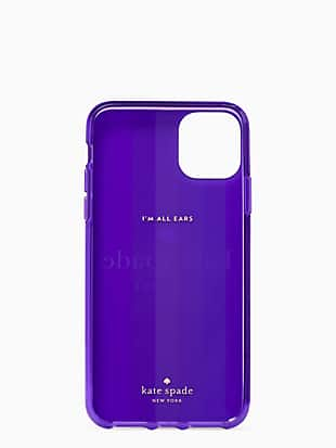 rainbow logo iphone 11 pro max case by kate spade new york hover view