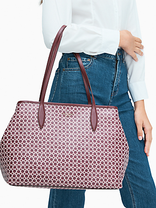 spade link tote by kate spade new york hover view