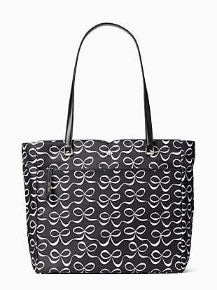 jae elegant bow large tote by kate spade new york non-hover view