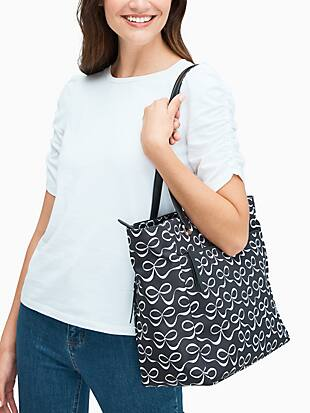 jae elegant bow large tote by kate spade new york hover view