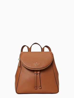 leila medium flap backpack by kate spade new york non-hover view