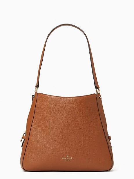 leila medium triple compartment shoulder bag