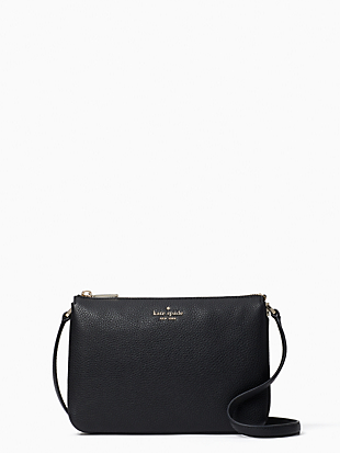 leila triple gusset crossbody by kate spade new york non-hover view