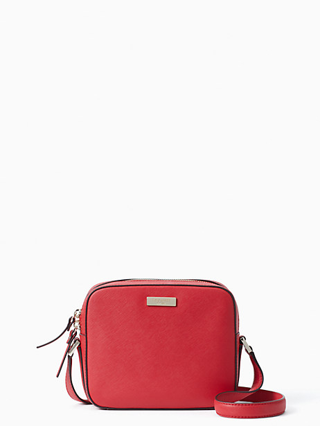 newbury lane cammie, hot chili, large by kate spade new york