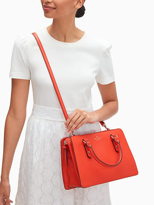 Kate Spade: Mulberry Street Lise Leather Satchel $89 (Only Today)