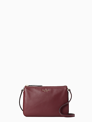 jackson colorblock triple gusset crossbody by kate spade new york non-hover view
