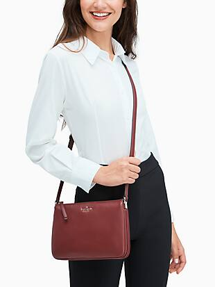 jackson colorblock triple gusset crossbody by kate spade new york hover view