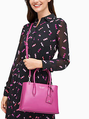 eva small top zip satchel by kate spade new york hover view