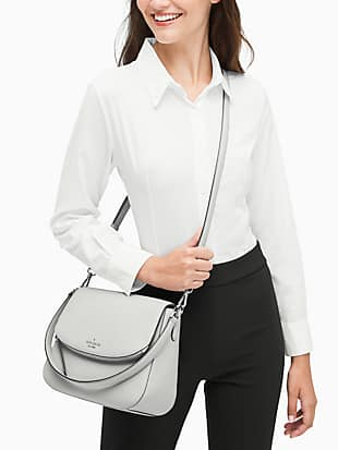 jackson medium flap shoulder bag by kate spade new york hover view