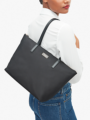 hayden top zip tote by kate spade new york hover view