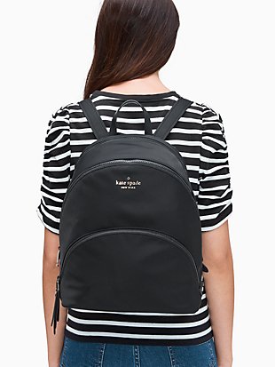 karissa nylon large backpack by kate spade new york hover view