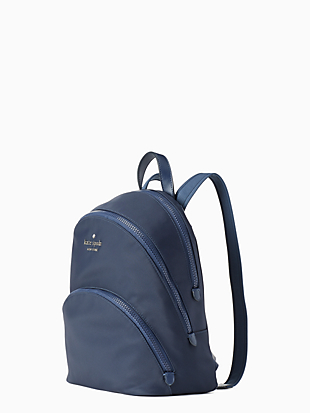karissa nylon medium backpack by kate spade new york hover view