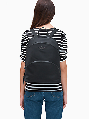 karissa nylon x-large backpack by kate spade new york hover view