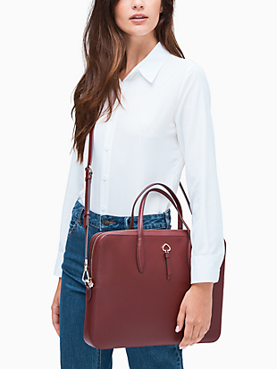 adel laptop bag by kate spade new york hover view