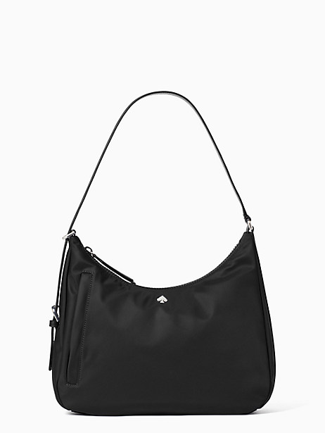 jae medium shoulder bag, black, large by kate spade new york