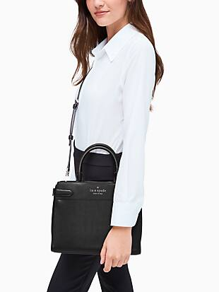 staci colorblock medium satchel by kate spade new york hover view