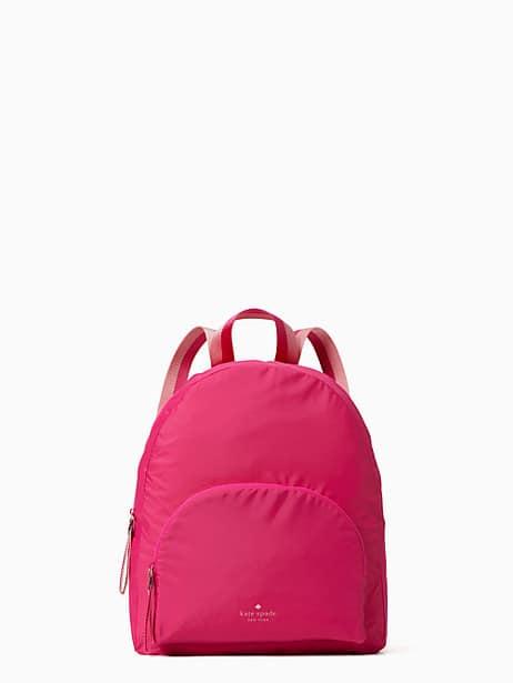 arya packable backpack, bright magenta, productThumbnail