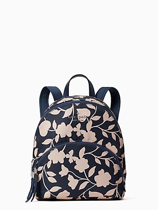 karissa nylon garden vine medium backpack by kate spade new york non-hover view