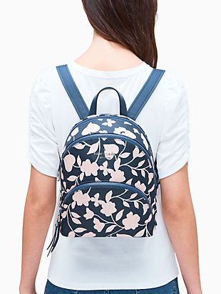 karissa nylon garden vine medium backpack by kate spade new york hover view