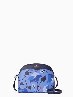 케이트 스페이드 Kate Spade payton nouveau bloom dome crossbody,BLUE MULTI