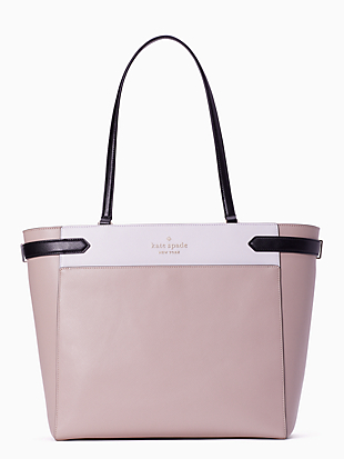 staci colorblock laptop tote by kate spade new york non-hover view