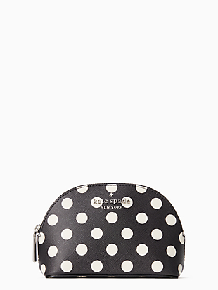 staci picture dot small dome cosmetic by kate spade new york non-hover view