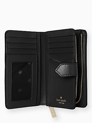staci medium compact bifold wallet by kate spade new york hover view