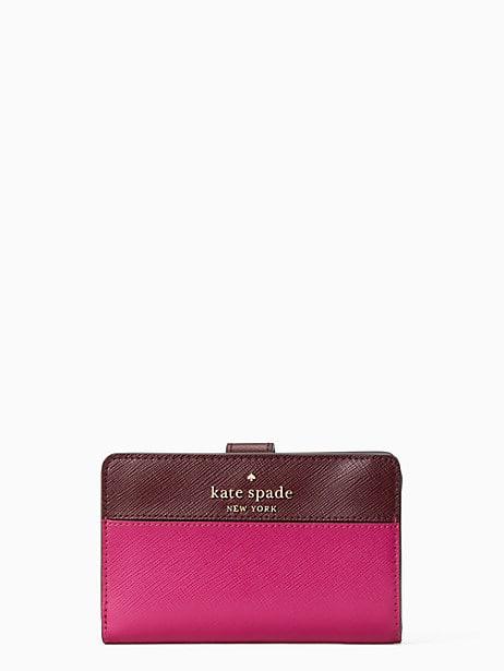 케이트 스페이드 Kate Spade staci medium compact bifold wallet