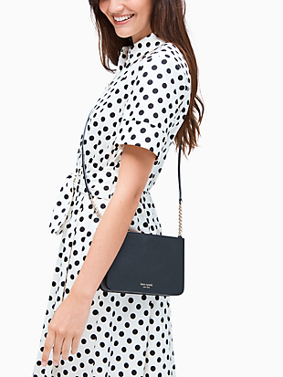 staci festive confetti small flap crossbody by kate spade new york hover view