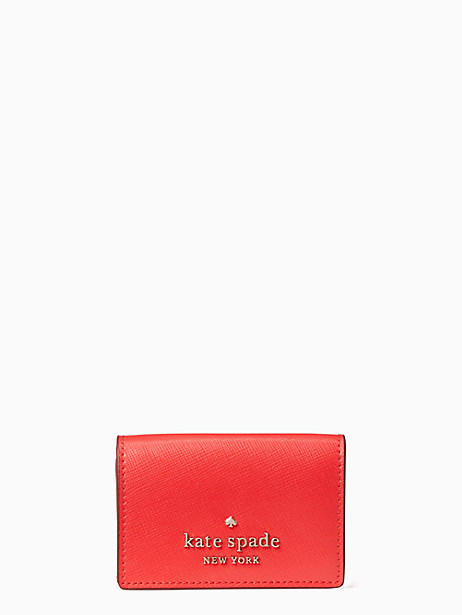 케이트 스페이드 Kate Spade staci micro tri fold wallet