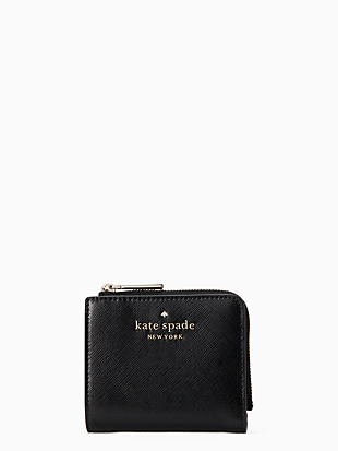 staci small l-zip bifold wallet by kate spade new york non-hover view