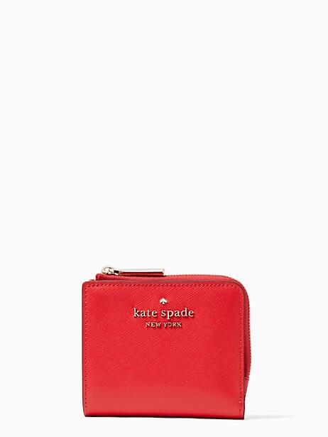 케이트 스페이드 Kate Spade staci small l-zip bifold wallet