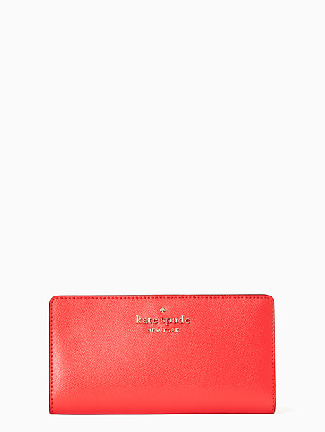 케이트 스페이드 Kate Spade staci large slim bifold wallet