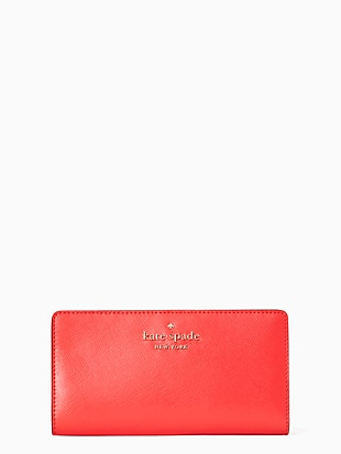 staci large slim bifold wallet by kate spade new york non-hover view